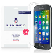3x iLLumiShield Ultra Clear Screen Protector Cover for Samsung Galaxy Ace 4