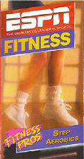 ESPN Fitness Pros Step Aerobics - SEALED VHS - Get a high-powered cardio workout