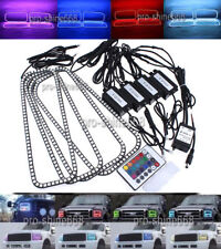 RGB Halo Rings Multi-Color LED Demon Devil Angel Eyes Remote For Ford F250 F350