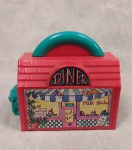 Vintage Galoob Pound Puppies Kibble Korner Playset Diner/Dump NO PETS - READ