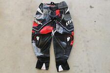Thor Flux Pants Black Red Adult Size 32 Motocross Dirtbike Pants