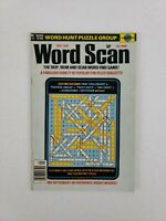 Vintage September 1976 Word Scan Find Search Hunt Puzzle Activity Book Magazine