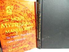 The Most Mysterious Manuscript -The Voynich Cipher Manuscript 1978 1st Ed Fine