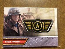 Captain America First Avenger Movie Patch Card I-5 Memorabilia