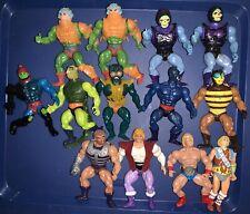 He-Man Masters Of The Universe MOTU Action Figure Lot Hulk Hogan + Vintage 80s