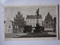 Ansichtskarte Greifswald Markt 1926 (Nr.657) -II