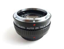 Sears Auto 2X Tele Converter for Canon FD Cameras