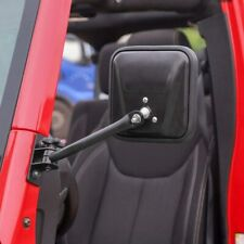 Side Mirrors Quick Release Doors Off Mirrors for Jeep Wrangler TJ JK 1997-2018