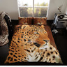 3D Duvet Cover Sets Animal Print Bedding PillowCases King Size Double Single New
