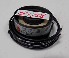 WARNER ELECTRIC SF-170 5000 MAX RPM MAX WATTS 6.0 FIELD BEARING 5603-451-051