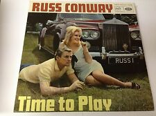 Russ Conway Time To Play vinyl LP album record UK MFP1096 1966 MINT/NMINT