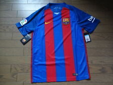 FC Barcelona 100% Original Soccer Football Jersey Shirt 2016/17 Home BNWT M