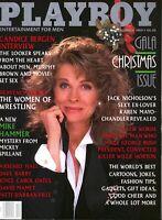 Playboy Magazine December 1989 ~ Christmas Gala Issue!