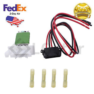 For 07-14 Mini Cooper Countryman Paceman Blower Motor Resistor Kit w/ Harness