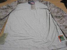 USMC FROG Combat Ensemble Shirt Desert Marpat Camo Propper Precision Mens L