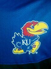 Kansas Jayhawks Quarter Zippered Pullover.  NCAA
