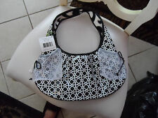Vera Bradley Tied Together Hobo in Night & Day  NWT