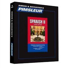 Pimsleur Learn/Speak SPANISH Language Level 2 CDs NEW!!