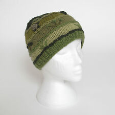 Funky Hand Knitted Winter Woollen Crazy Stitched Beanie Hat UNISEX CSB14