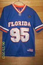 Florida Gators #95 Legendary Classic Football Jersey Youth Large 14/16 EUC SEWN