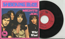 SHOCKING BLUE 2 track pic sleeve 45 MIGHTY JOE Wild Wind Holland?