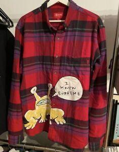 supreme daniel johnston flannel
