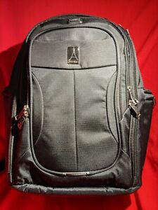 Travelpro Walkabout 4 Laptop Travel Business School Backpack Black with USB Port