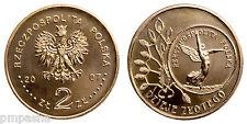"""Poland 2007 - 2 zlotych """"History of the Polish Money - 5 zloty 1928 (Nike)"""" UNC"""