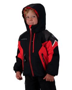 Obermeyer Bolide Jacket - Toddler Boys - 7 / Red