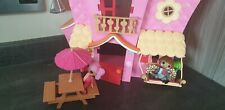 "LALALOOPSY - doll house - ""Sew Sweet House"" - 2 Dolls - See Pictures"