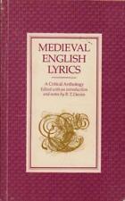 Medieval English Lyrics(Paperback Book)R. T. Davies-Acceptable