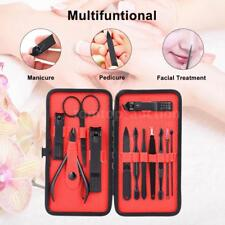 Stainless Nail Clipper Kit Manicure & Pedicure Set Travel & Grooming Kit I1U6