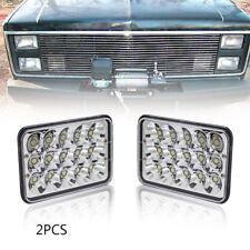 "4""x6"" LED Headlights CREE HID Light Bulb Sealed Beam Crystal Clear Headlamp IP68"