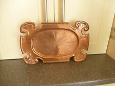 VINTAGE ARTS & CRAFTS HAND MADE  COPPER TRAY 1901