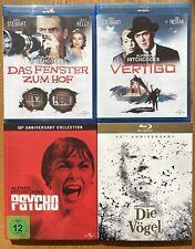 Alfred Hitchcock Collection - Das Fenster zum Hof + Vertigo + Psycho + Die Vögel
