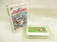 Famicom BATTLE BASEBALL Gundam No Instruction bcn Nintendo Japan Boxed Game fc