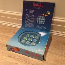Original Rubik's CLOCK Brainteaser Puzzle Matchbox in box Vintage classic 1988