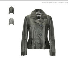 ESEMPLARE LIGHTWEIGHT JACKET, NWT, MADE IN ITALY, olive green, size 6