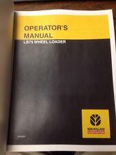 New Holland Lb75 Loader Backhoe Operators Manual Operator Operation Maintenance