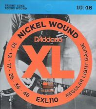 D' ADDARIO El. Guitar REGULAR LIGHT 010-046 exl-110, i7 -