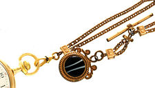 Strand Pocket Watch Chain & Fob Traditional Pocket Watch Chain - Victorian Two