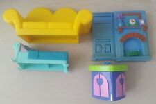 plastic doll house furniture - doll house various plastic items