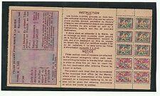 1948 European Command Eucom Exchange System Ration Stamps - MINT