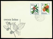 POLEN FDC 1977 FLORA FRÜCHTE BEEREN BEERE FRUITS BERRY BERRIES cf82