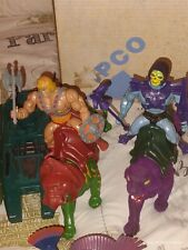 *WHOLE COLLECTION* MASTERS of th- UNIVERSE. HE-MAN & SHE-RA all ACCESSORIES INCL