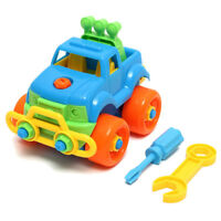 Kid Children Baby Boy Disassembly Assembly Classic Car Educational Play Toy K6G4