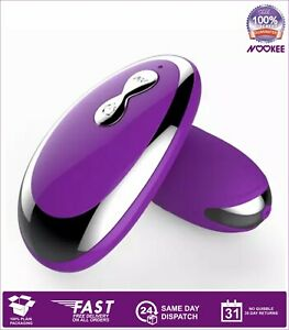 VIBRATING LOVE EGG POWERFUL REMOTE CONTROL SOFT SMOOTH GENTLY RIBBED SILICONE