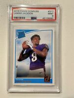 2018 Panini Donruss #317 Lamar Jackson Rated Rookie PSA 9 Mint