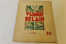 revue VISAGE DE L AIN 30 1955
