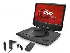 """Lecteur DVD Portable Ecran Rotatif 9"""" TFT Led Batterie Intégrée Caliber"""